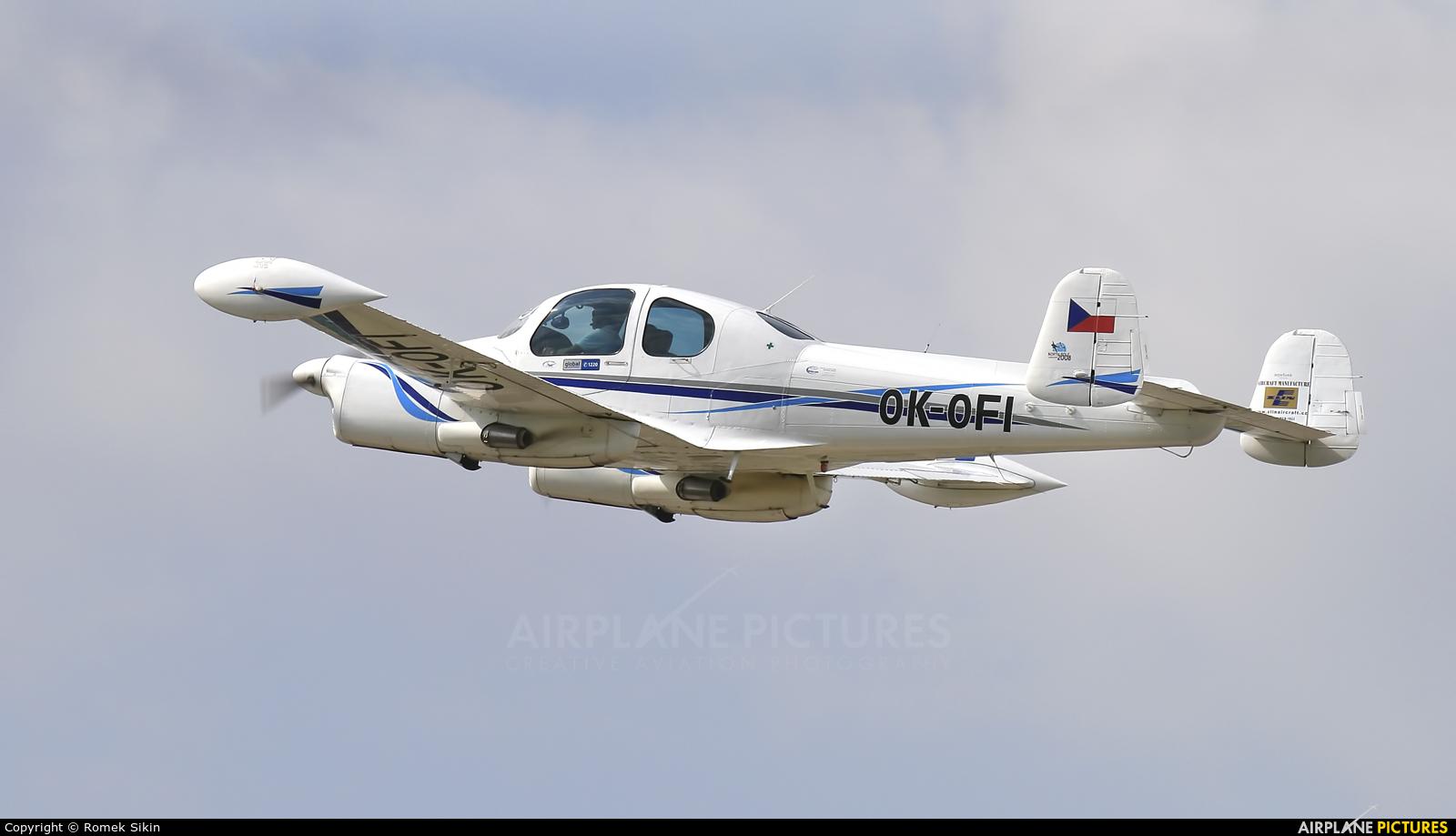 Private OK-OFI aircraft at Pardubice