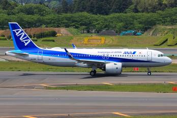 N218A - ANA - All Nippon Airways Airbus A320 NEO