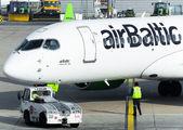 YL-CSD - Air Baltic Bombardier CS300 aircraft