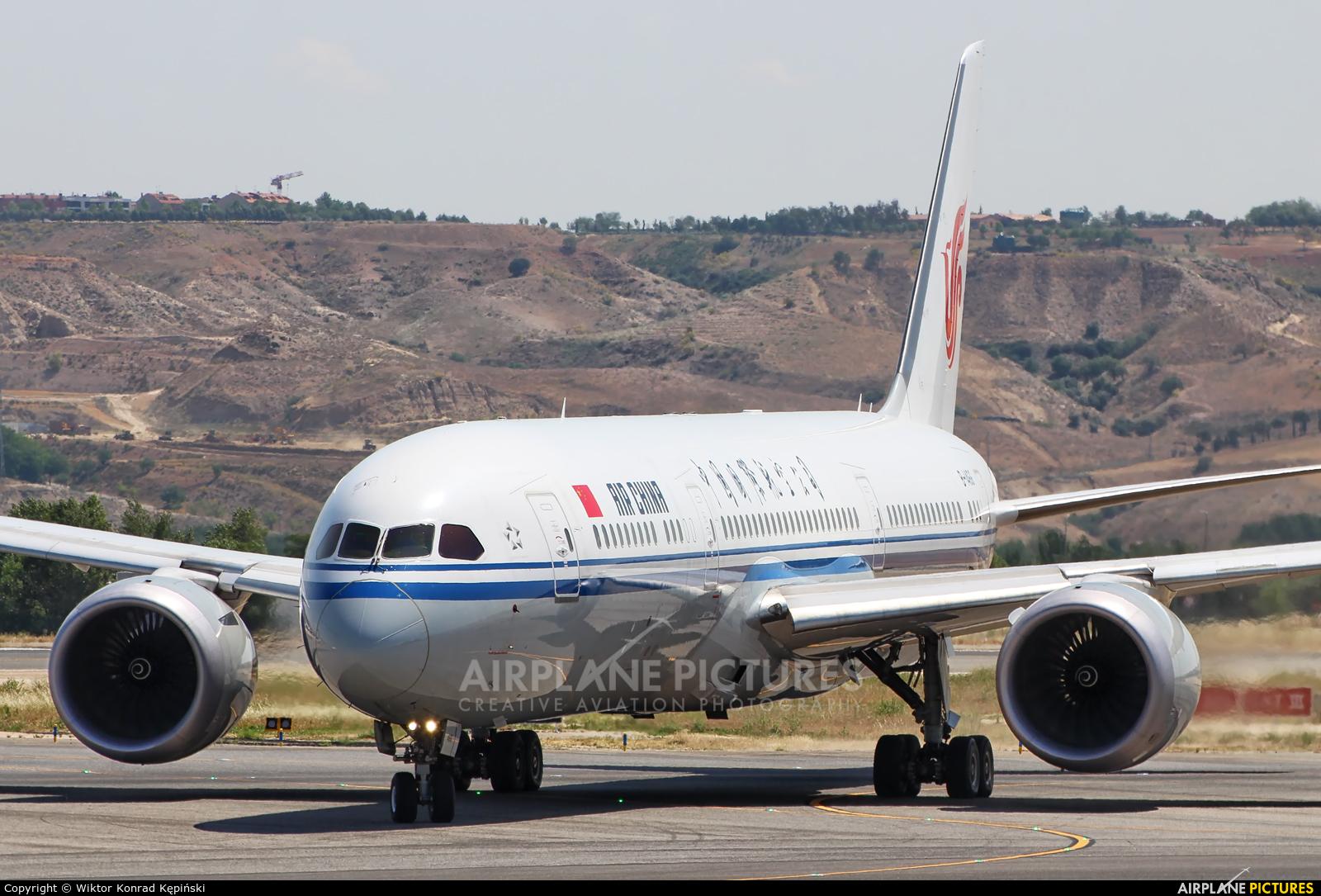 Air China B-1466 aircraft at Madrid - Barajas