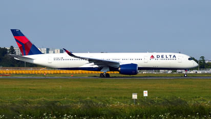 N513DZ - Delta Air Lines Airbus A350-900