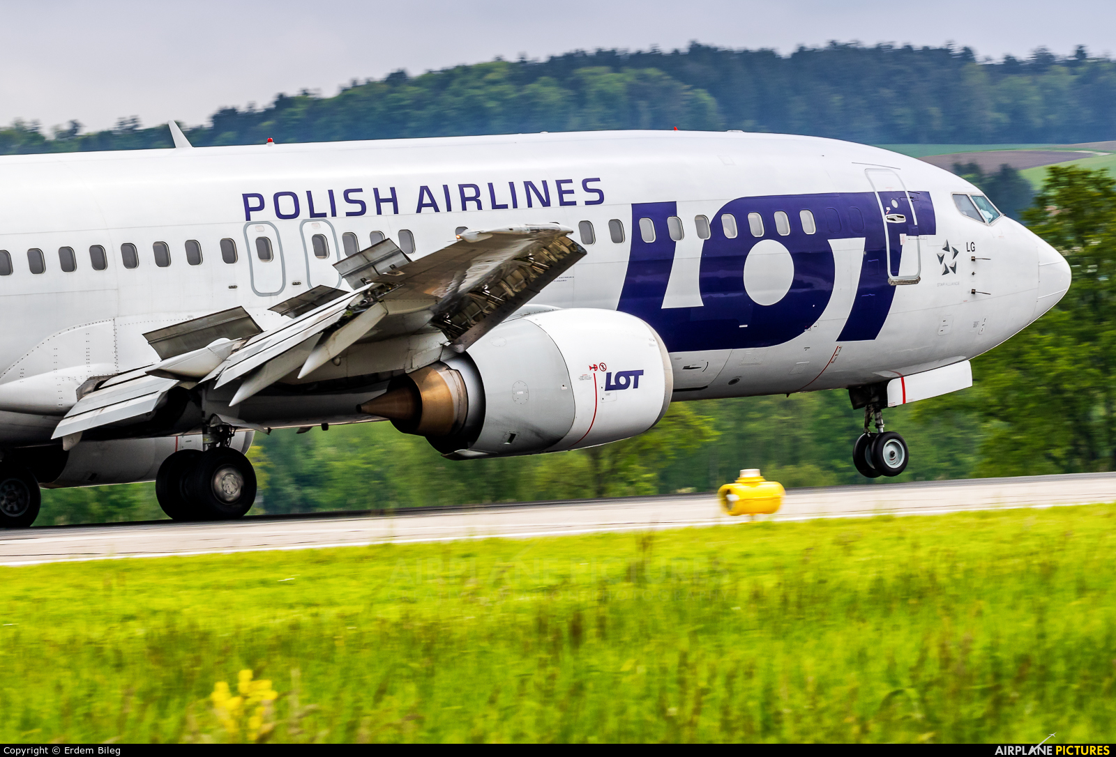 LOT - Polish Airlines SP-LLG aircraft at Zurich