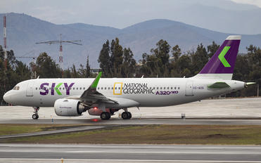 CC-AZG - Sky Airlines (Chile) Airbus A320 NEO