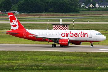 D-ALTC - Air Berlin Airbus A320