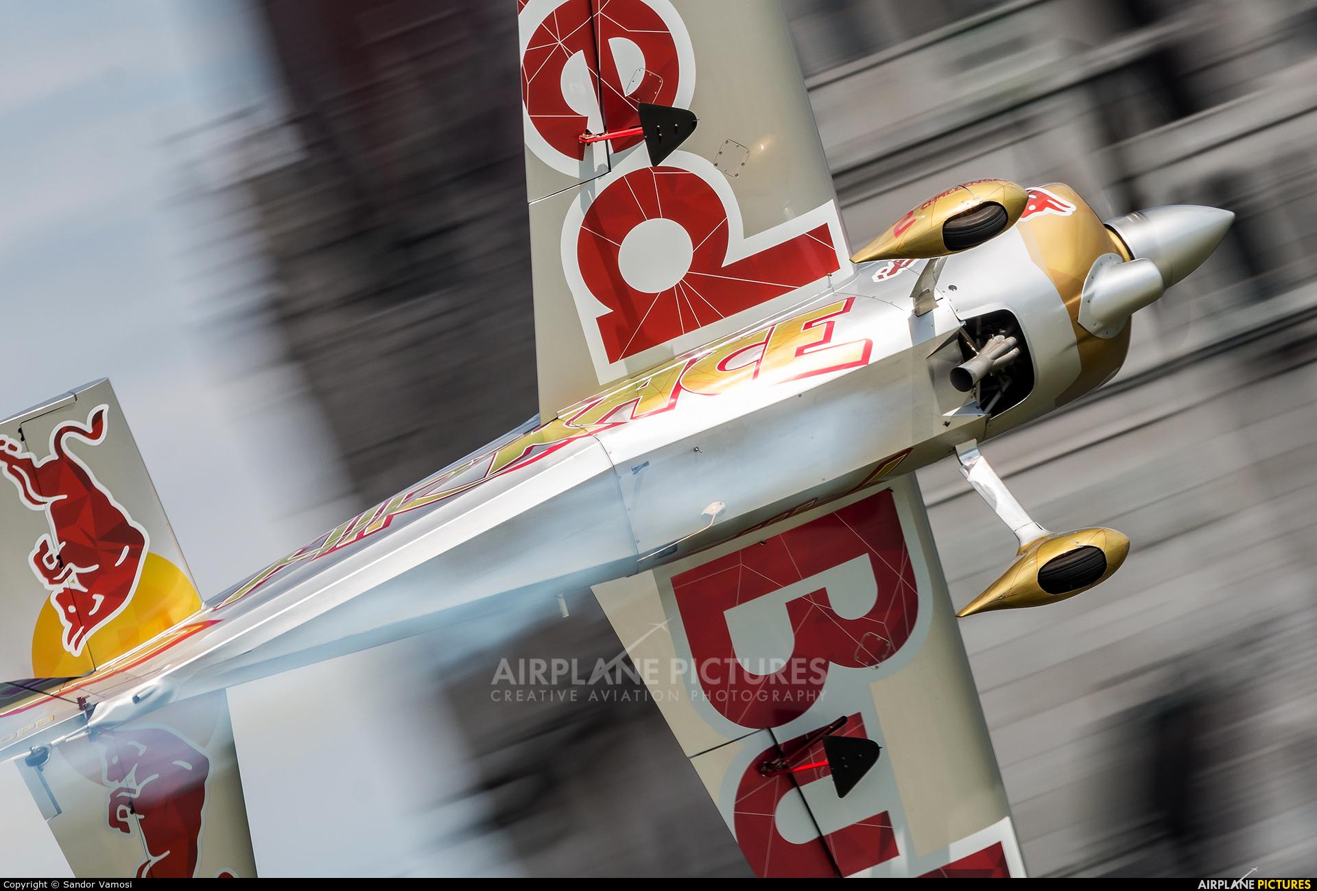 Red Bull N540PB aircraft at Off Airport - Hungary