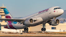 D-ABFP - Eurowings Airbus A320 aircraft