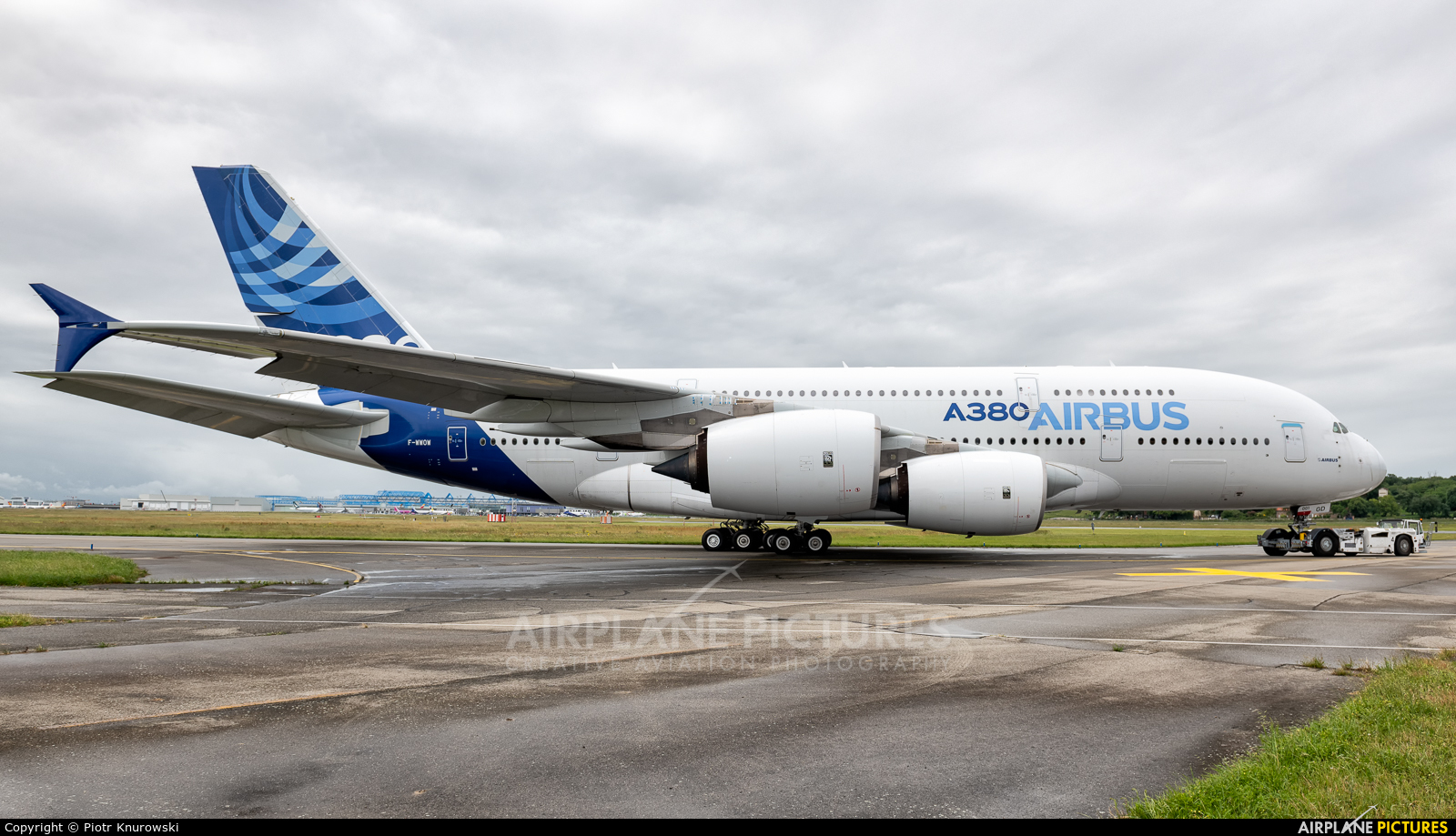 Airbus Industrie F-WWOW aircraft at Toulouse - Blagnac