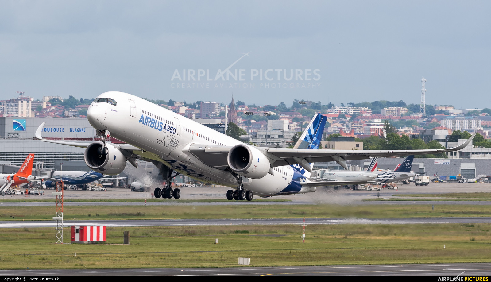Airbus Industrie F-WXWB aircraft at Toulouse - Blagnac