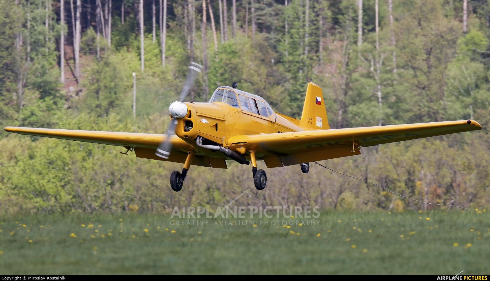 Private OK-MPA aircraft at Letiště Frýdlant nad Ostravicí