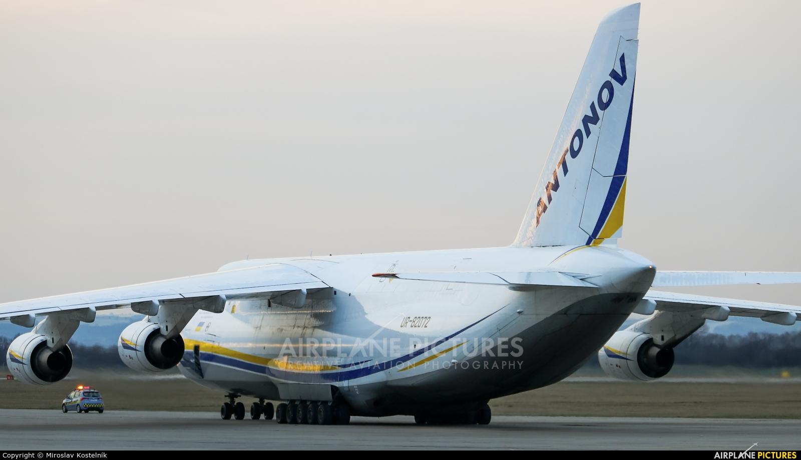 Antonov Airlines /  Design Bureau UR-82072 aircraft at Ostrava Mošnov