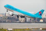 HL7639 - Korean Air Cargo Boeing 747-8F aircraft