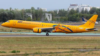 SP-LNO - LOT - Polish Airlines Embraer ERJ-195 (190-200)