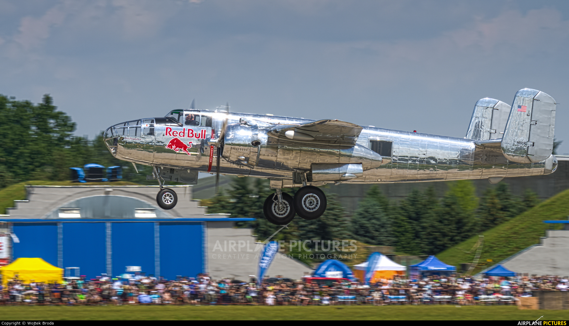 The Flying Bulls N6123C aircraft at Pardubice