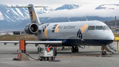 SE-DUY - West Air Sweden Bombardier CRJ-200LR