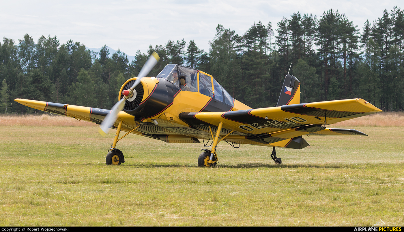 Private OK-NJD aircraft at Nowy Targ