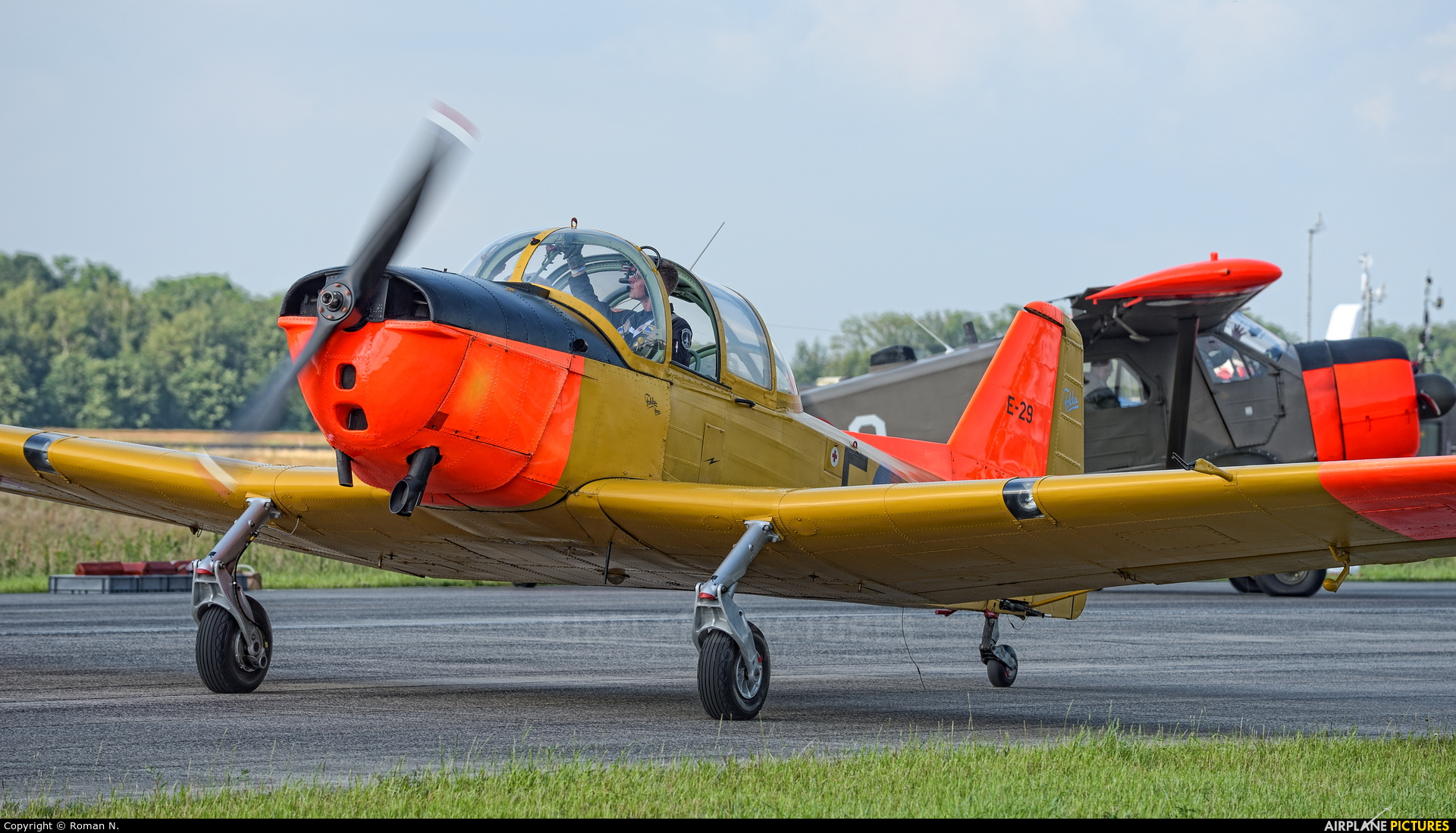 Private PH-HOK aircraft at Uden - Volkel
