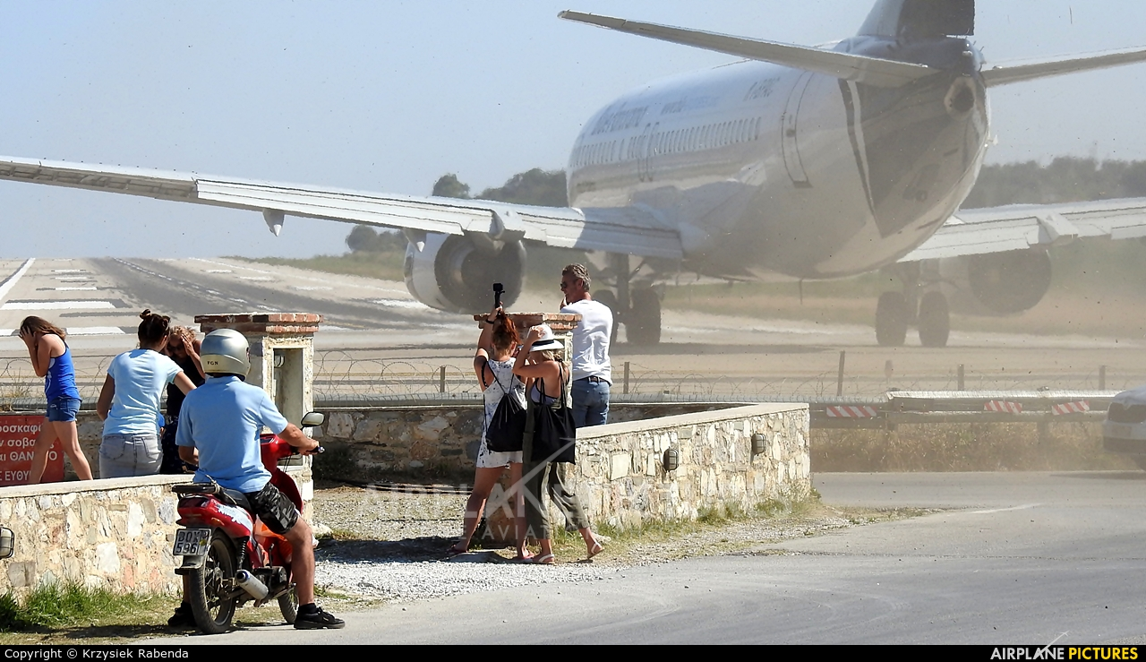 - Airport Overview  aircraft at Skiathos