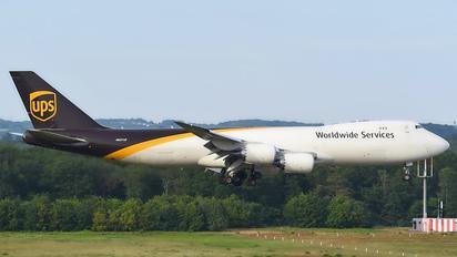 N607UP - UPS - United Parcel Service Boeing 747-8F