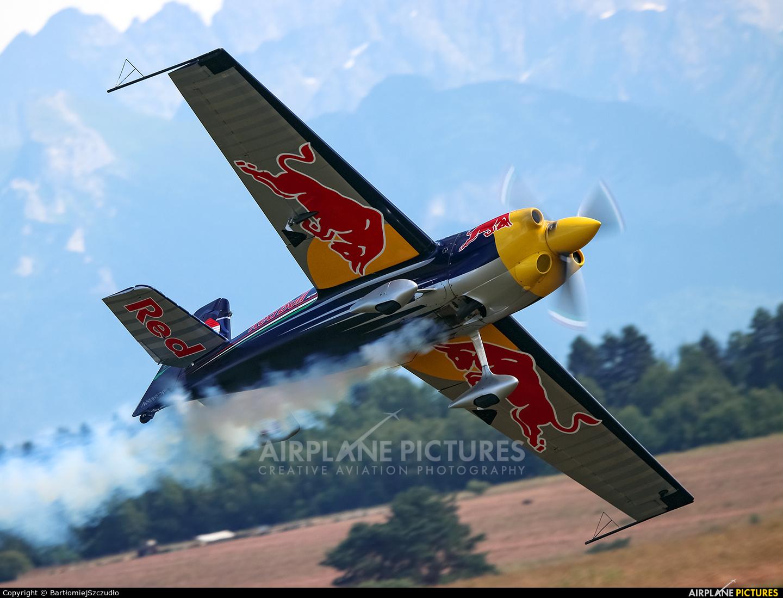 Red Bull N806CR aircraft at Nowy Targ
