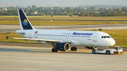 TS-INB - Nouvelair Airbus A320