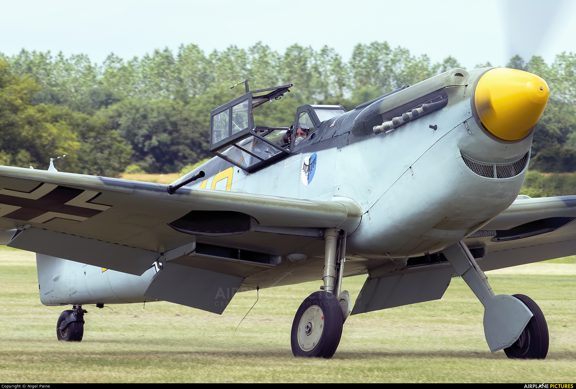 Private G-AWHK aircraft at Lashenden / Headcorn