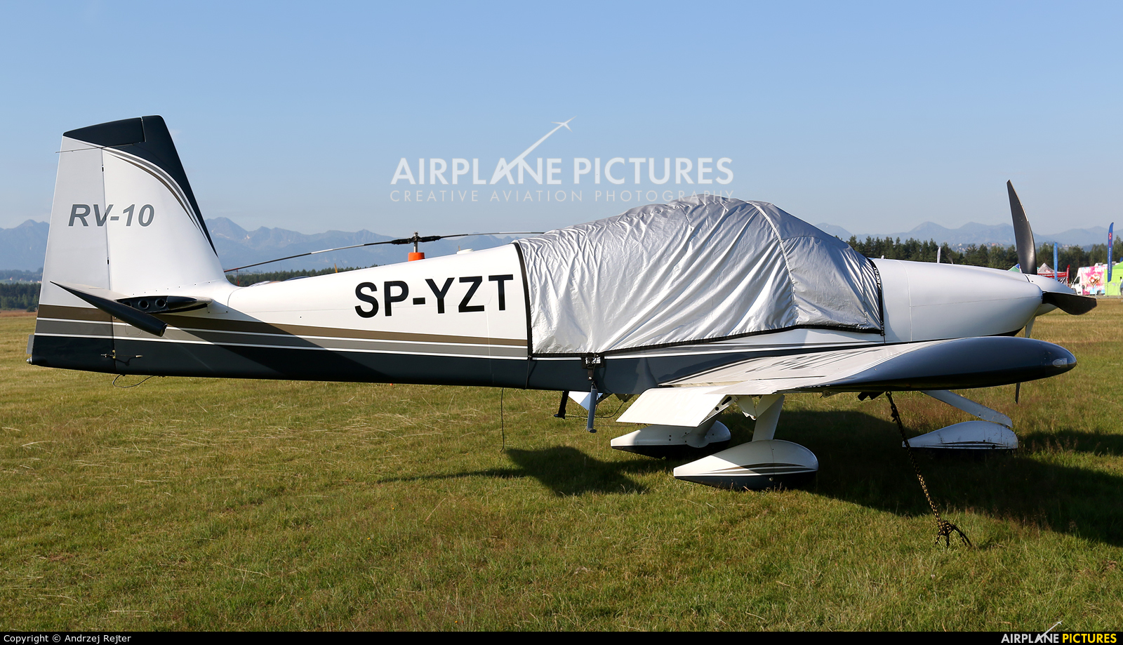 Private SP-YZT aircraft at Nowy Targ