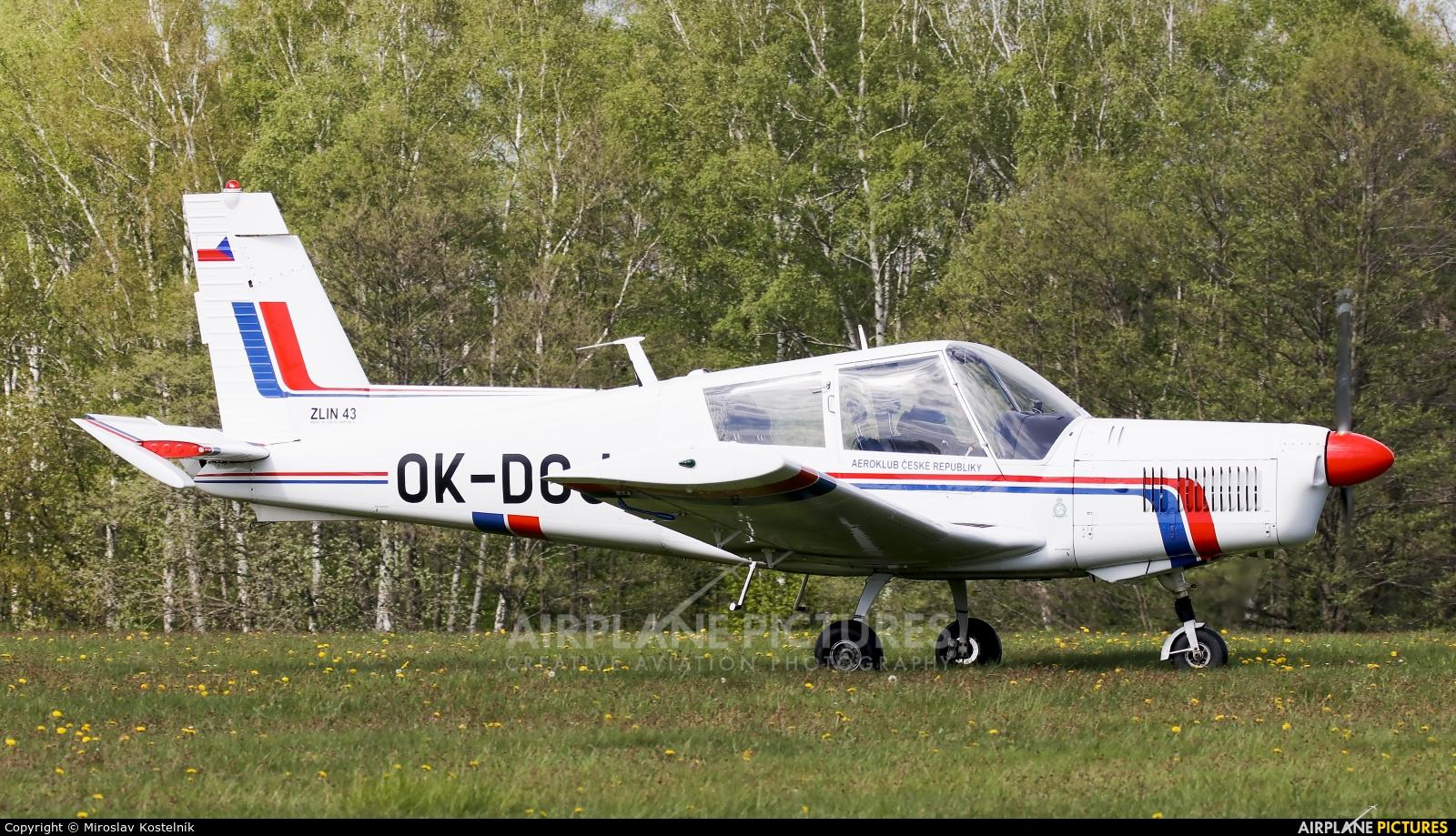 Aeroklub Czech Republic OK-DOJ aircraft at Letiště Frýdlant nad Ostravicí