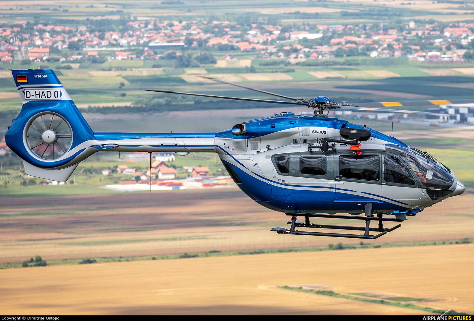 Serbia - Police YU-MED aircraft at In Flight - Serbia