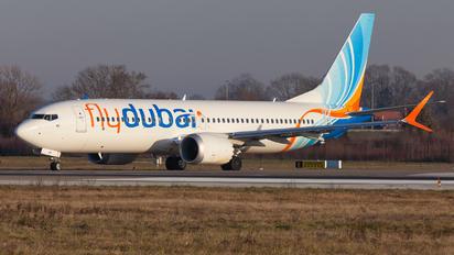 A6-FMF - flyDubai Boeing 737-8 MAX