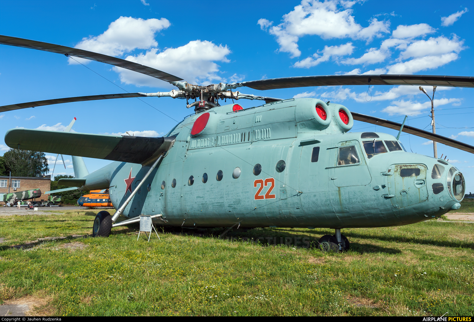 Soviet Union - Air Force 22 aircraft at Kyiv - Zhulyany