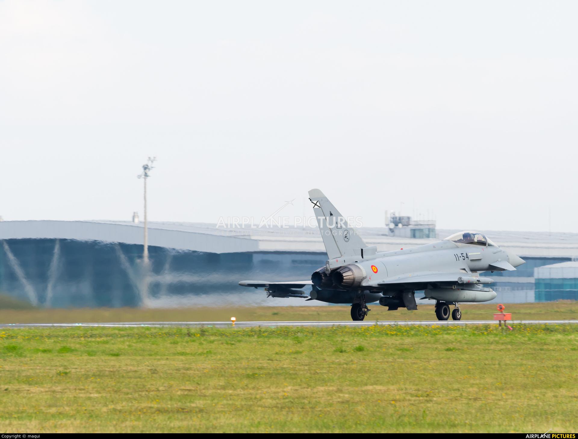 Spain - Air Force C.16-54-10003 aircraft at Santiago de Compostela