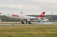 SWISS Airbus A340 visited Moscow title=