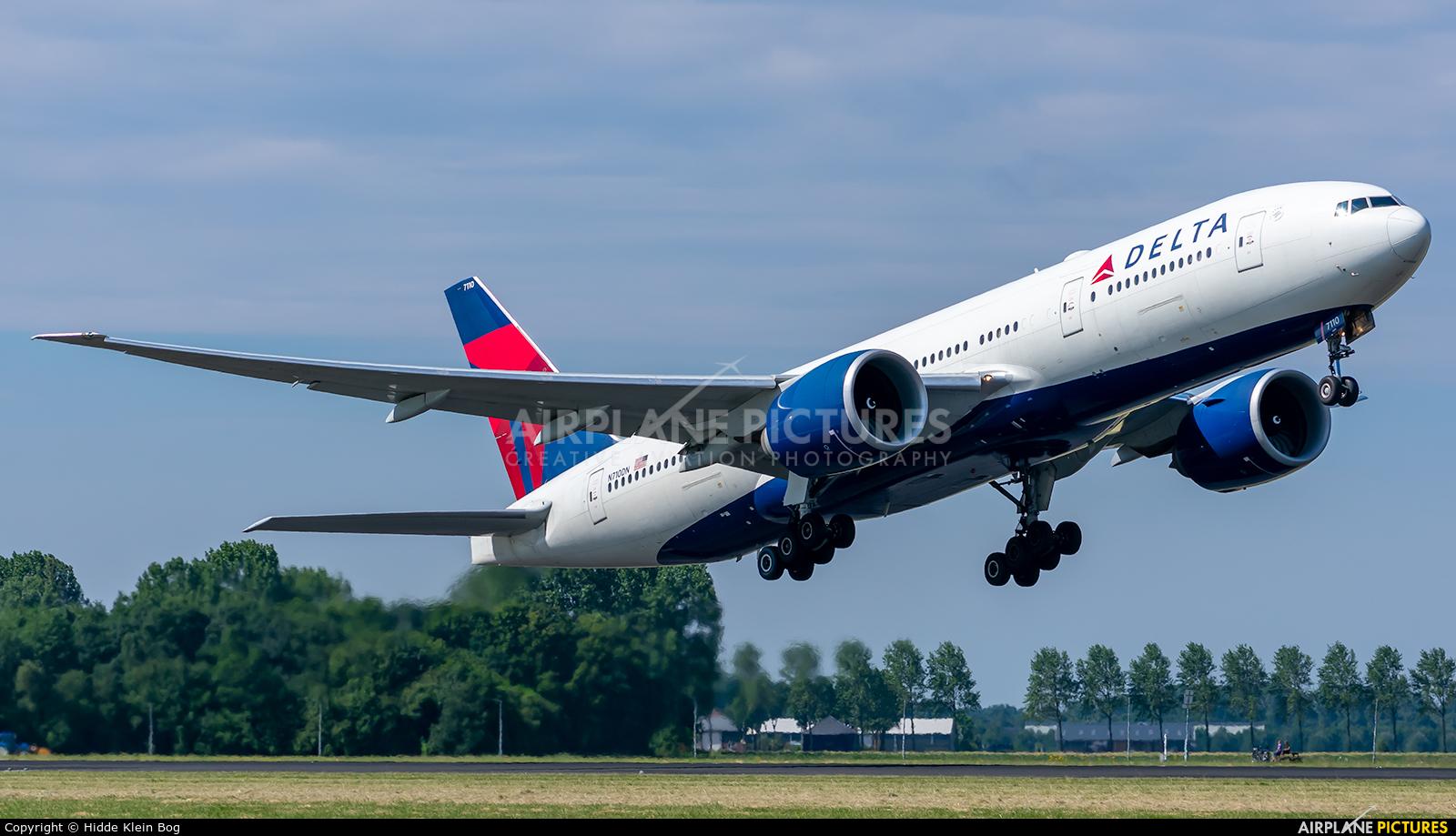Delta Air Lines N710DN aircraft at Amsterdam - Schiphol