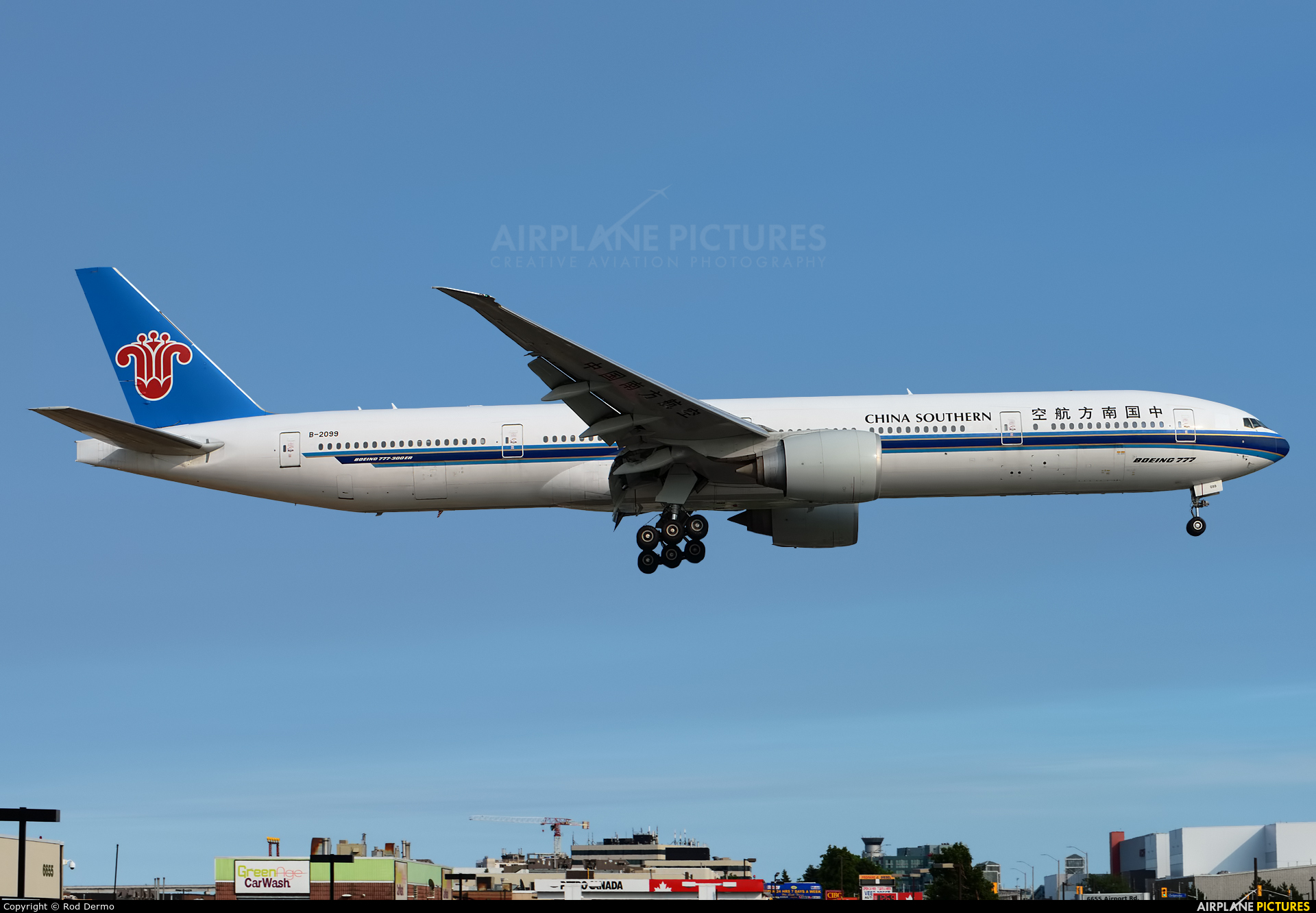 China Southern Airlines B-2099 aircraft at Toronto - Pearson Intl, ON