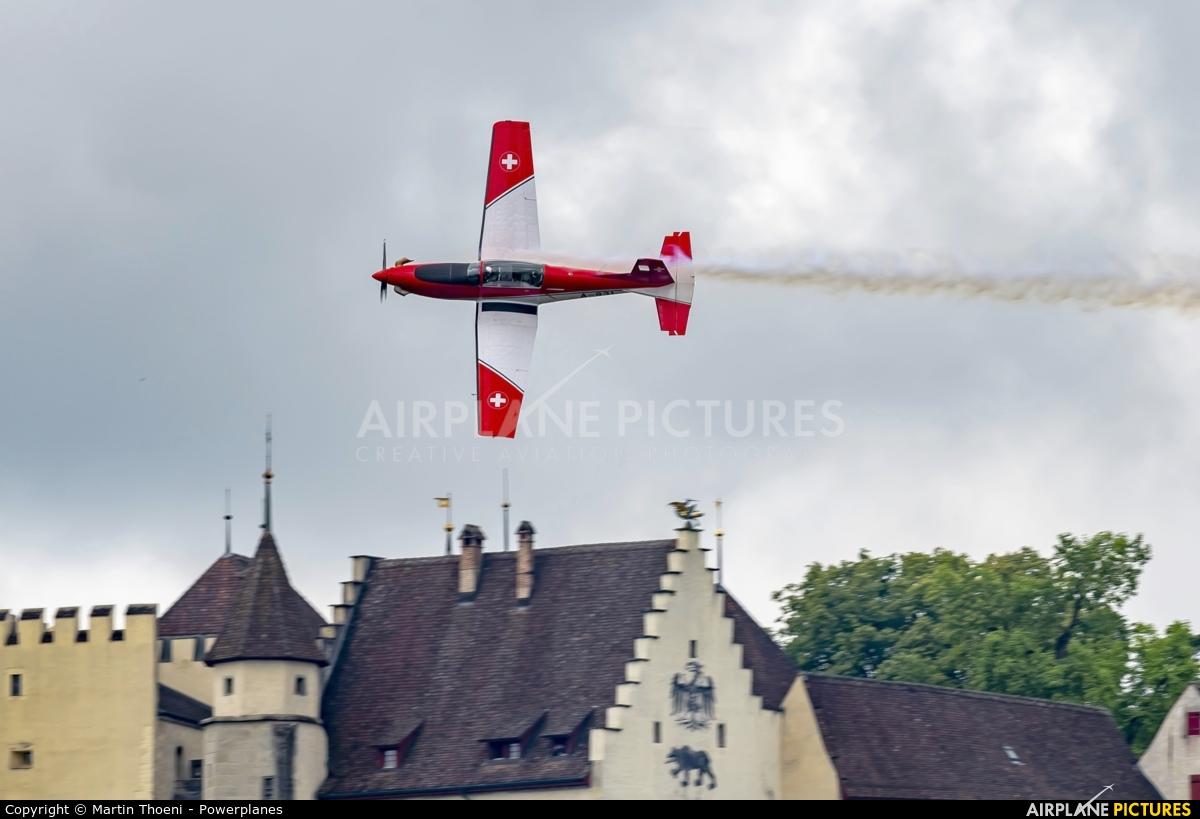 Switzerland - Air Force: PC-7 Team A-931 aircraft at Off Airport - Lenzburg