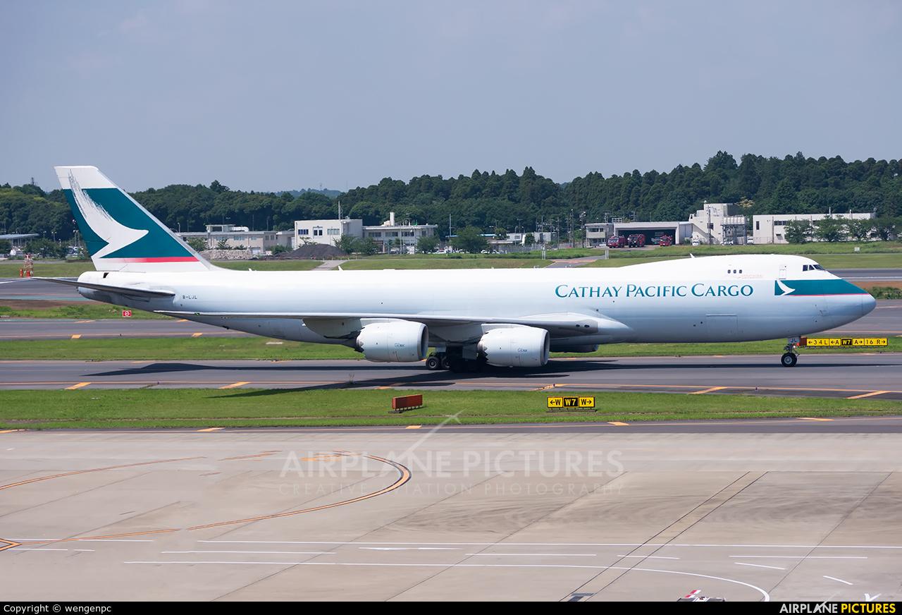 Cathay Pacific Cargo B-LJL aircraft at Tokyo - Narita Intl