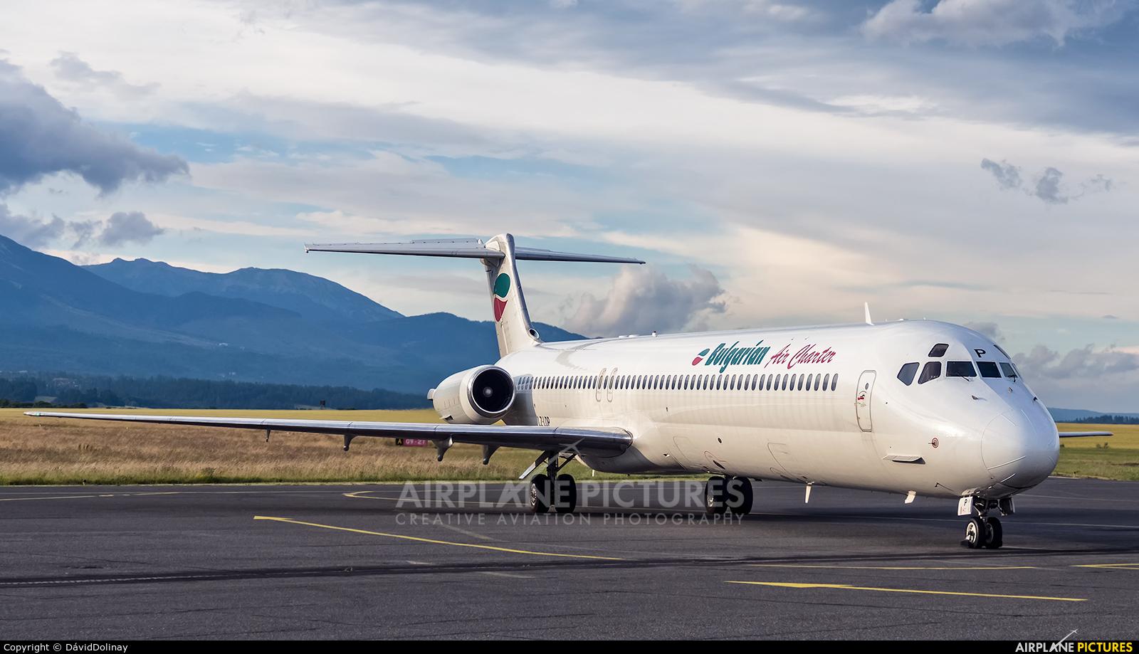Bulgarian Air Charter LZ-LDP aircraft at Poprad - Tatry