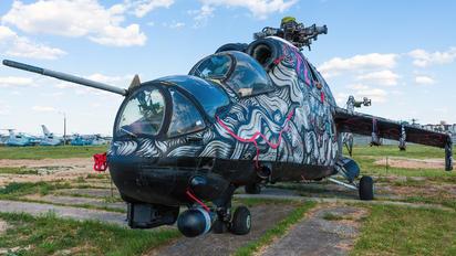 72 - Ukraine - Air Force Mil Mi-24P