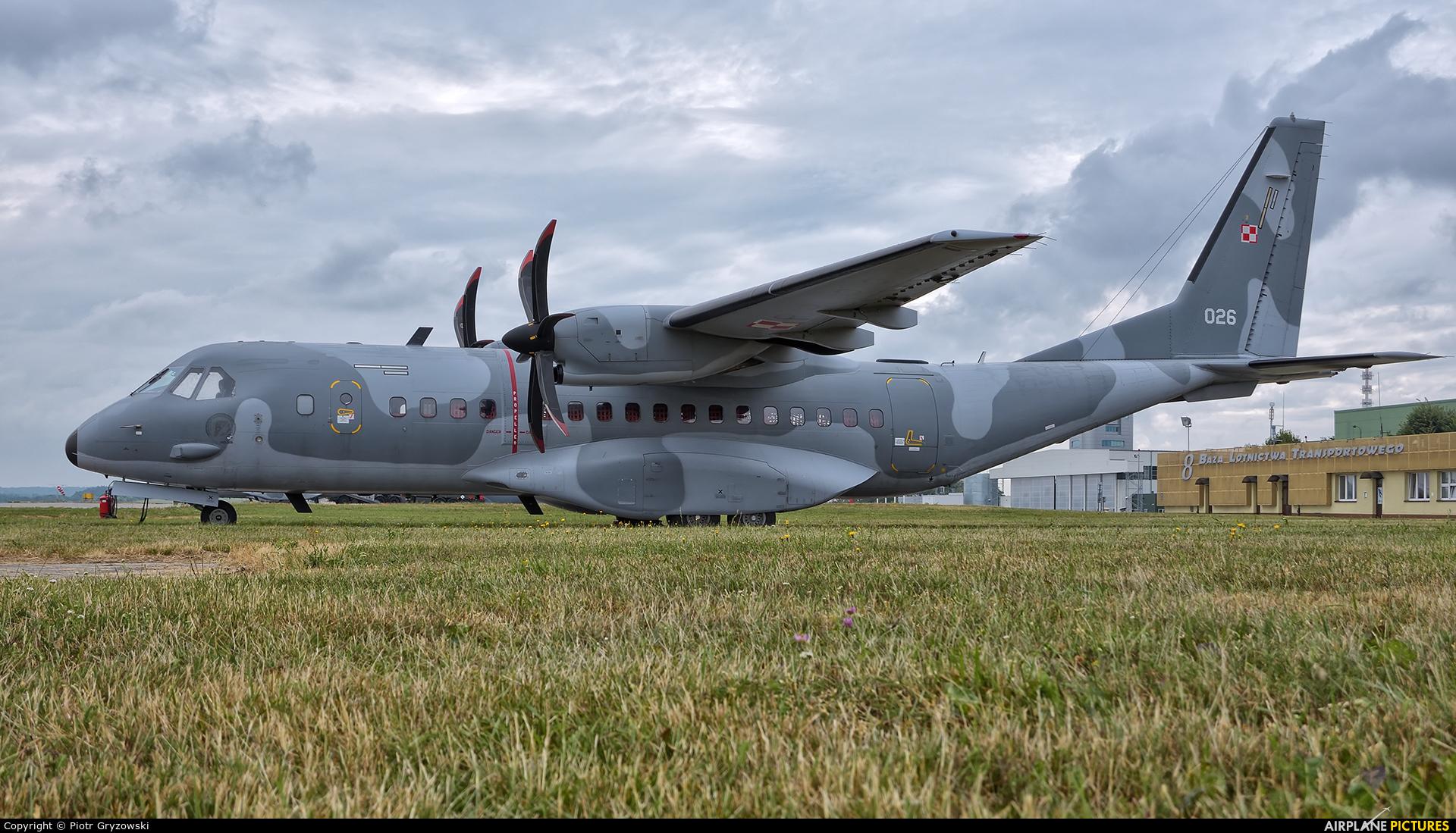 Poland - Air Force 026 aircraft at Kraków - John Paul II Intl