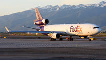 N642FE - FedEx Federal Express McDonnell Douglas MD-11F aircraft