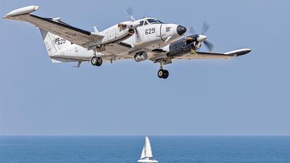 629 - Israel - Defence Force Beechcraft 200 King Air
