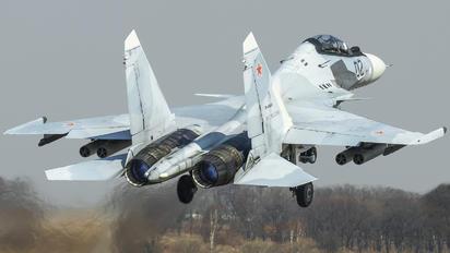 RF-93682 - Russia - Air Force Sukhoi Su-30SM