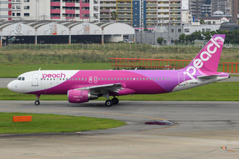 JA808P - Peach Aviation Airbus A320