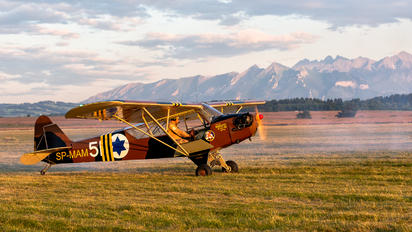 SP-MAM - Private Piper L-4 Cub