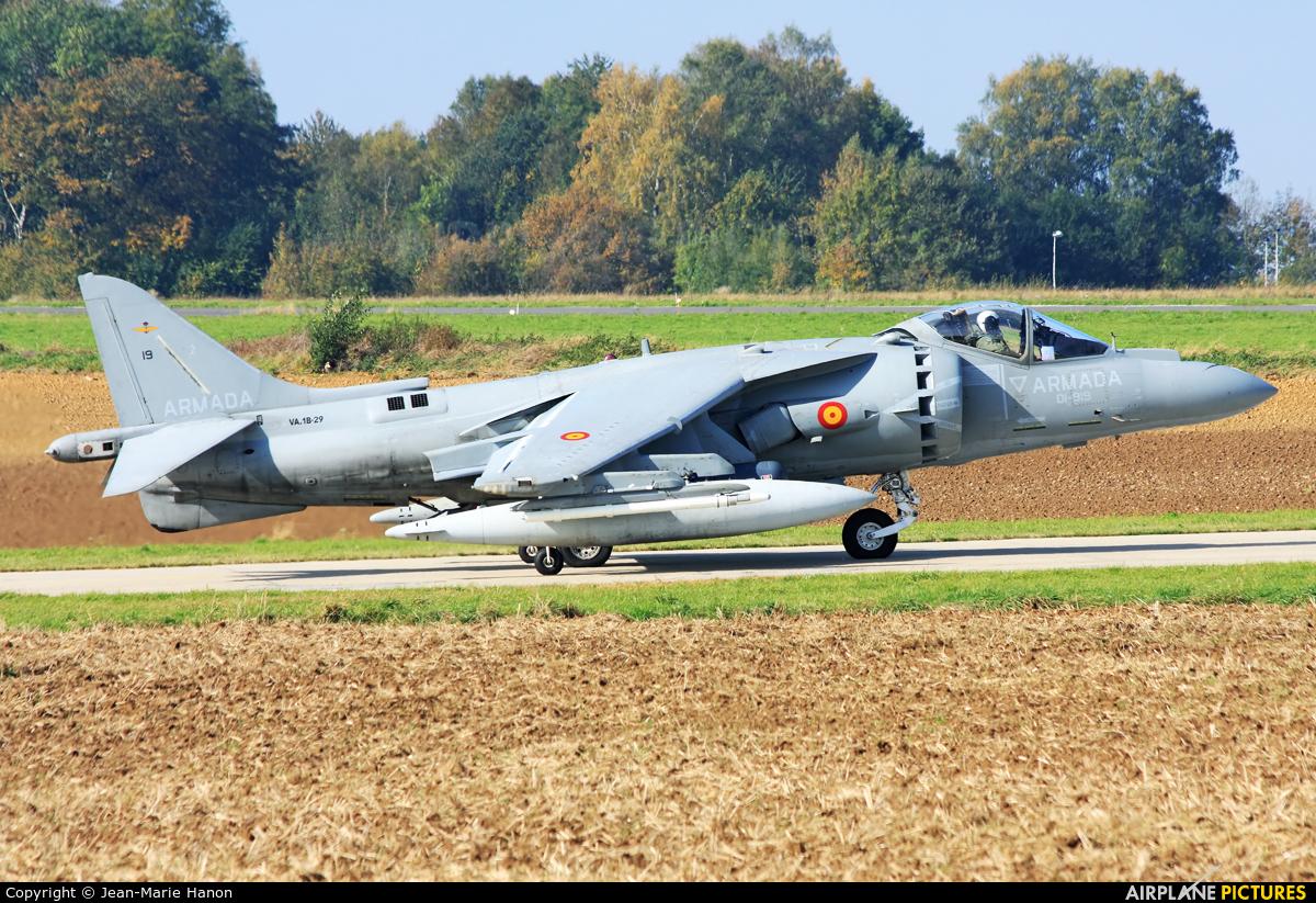 Spain - Navy VA.1B-29 aircraft at Florennes