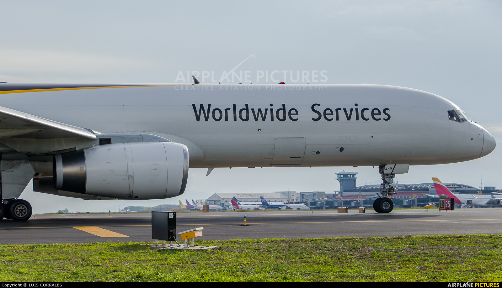 UPS - United Parcel Service N459UP aircraft at San Jose - Juan Santamaría Intl