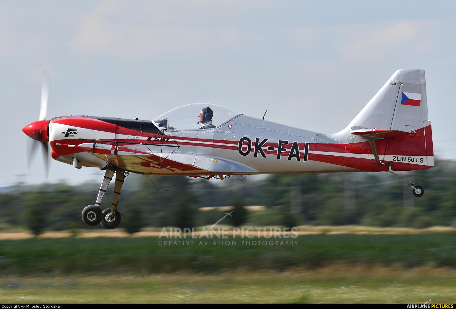 Aeroklub Czech Republic OK-FAI aircraft at Břeclav
