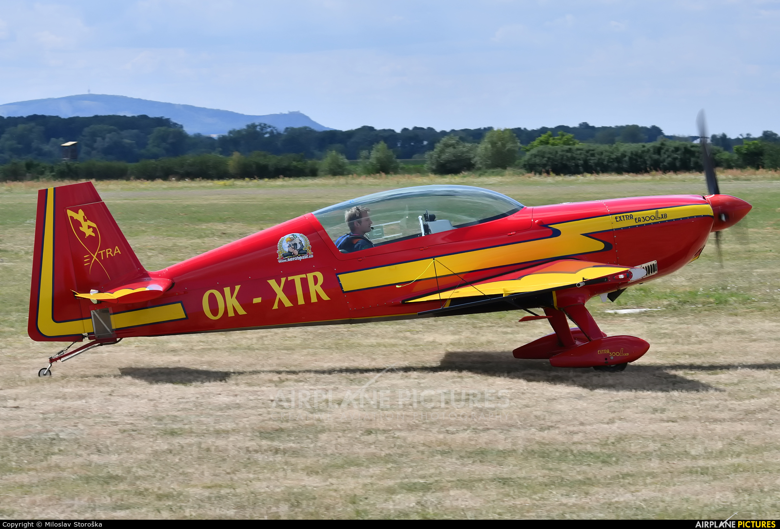 Private OK-XTR aircraft at Břeclav