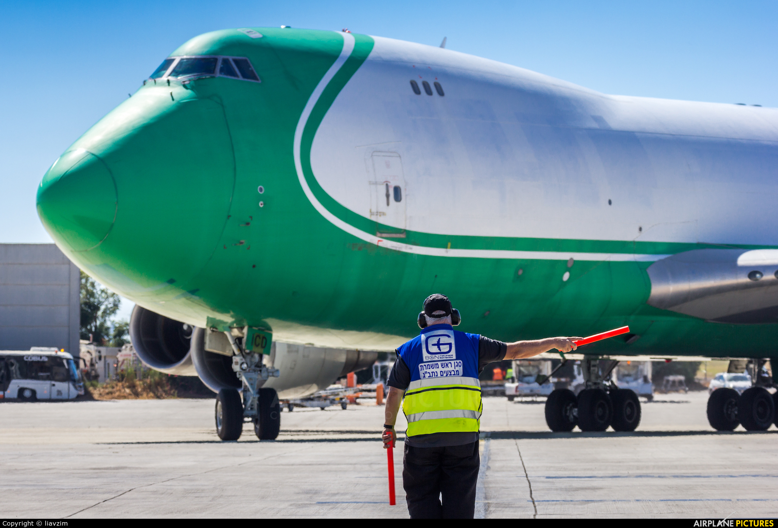CAL - Cargo Air Lines 4X-ICD aircraft at Tel Aviv - Ben Gurion