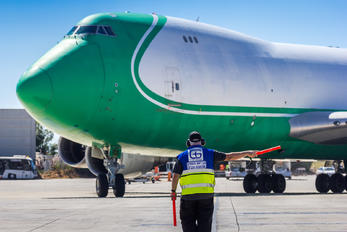 4X-ICD - CAL - Cargo Air Lines Boeing 747-400F, ERF